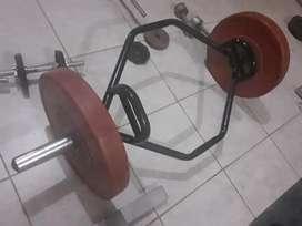 Venta gym pesos libres 2400 soles