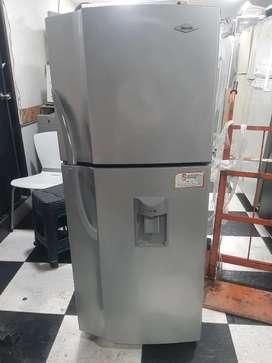 Nevera haceb no frost 222 litros con disp de agua