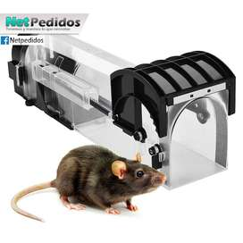 Jaula Trampa Ratas Ratones Smart Tube Trap 100% Eficaz