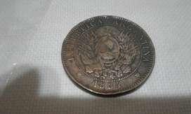 Colección de monedas antiguas.