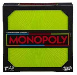 NUEVO Juego De Mesa Monopoly Neon Pop NUEVO