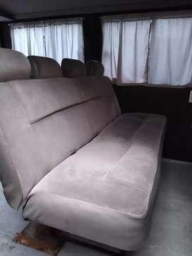 Butaca asiento tipo cama