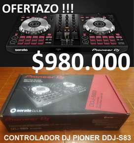 Controlador DJ Pioneer DDJ-S83