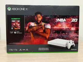 Xbox one x 1tb nba bundle