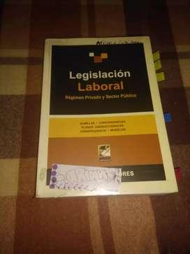 Libro de Legislación Laboral (Régimen privado y sector público)