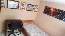 Arriendo habitación amoblada norte de Bogota