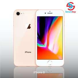 iPhone 8 64GB- iPhone 7, iPhone 6s, Open Box 1 año de Garantía, incluye obsequio