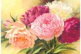 Kit Diamond Painting Flores