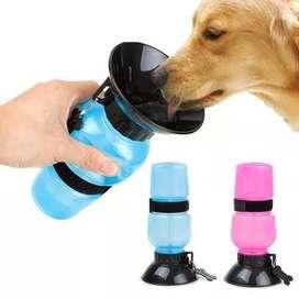 Gratis Envio Bebedero Portatil Aqua Dog Termo Agua