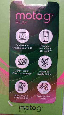 Celular Motorola G7PLAY