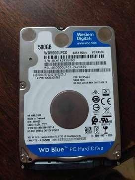 Disco Rígido 500gb WD s/ uso c/ Windows 10 original