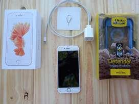 iPhone 6S 16 gb + Funda Ultrarresistente Otter Defender *PRECIO DISCUTIBLE*