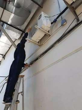 Reparacion rehubicacion instalacion manteniento asesoramiento de aires acondicionados