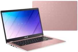ASUS E410 Intel Celeron N4020 - Portátil LED Win 10 (4 GB, 128 GB, eMMC, 14 pulgadas), color rosa