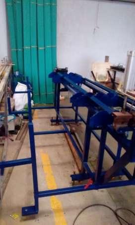 Redes electricas empacadoras verticales
