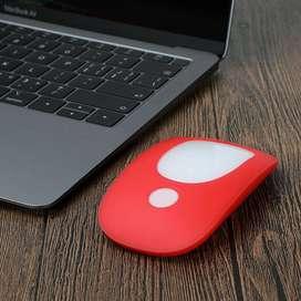 Estuche Antigolpe Para Apple Magic Mouse Silicona En Colores