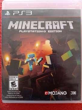Vendo minecraft para ps3