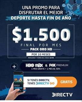 DirecTV instalación gratis