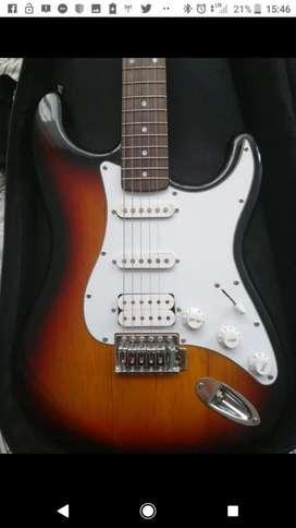 Guitarra electrica marca Washburn Clásica