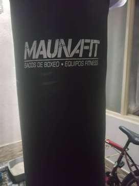SACO DE BOX MAUNA FIT DE 50 KG SE ENTREGA CON PAR DE GUANTES CARAY MMA