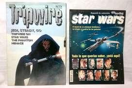 Lote Star Wars Especial Colección De Tv Y Novelas Más un Magazine Inglés. Ambos del año 1999