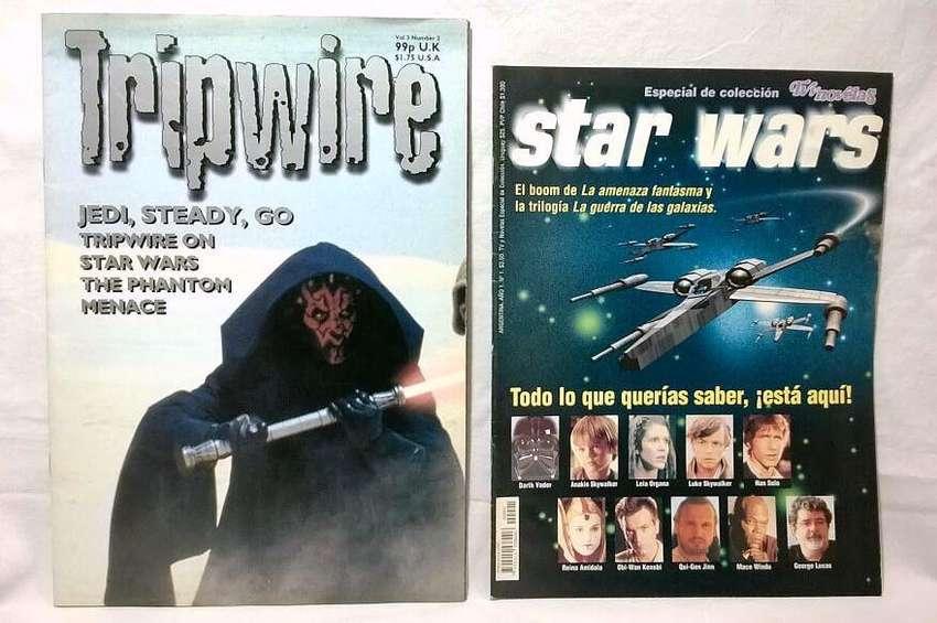 Lote Star Wars Especial Colección De Tv Y Novelas Más un Magazine Inglés. Ambos del año 1999 0