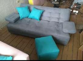 Gran remate sofá camas  x solo 599