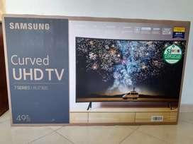 TV CURVO SAMSUNG DE 49 PULGADAS UHD 4K NUEVO SELLADO