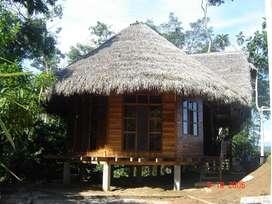 Vendo Hostería en Misahualli capacidad 60 personas en 15 ha.