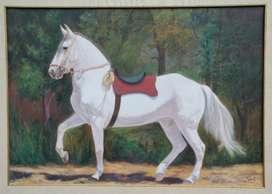 Cuadro de caballo de paso