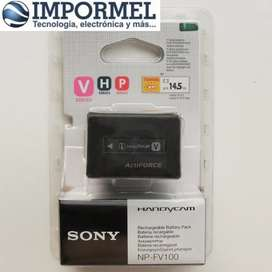 Bateria Recargable Camara Sony Original Np-fv100 Np Fv100