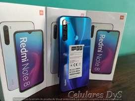 Xiaomi Redmi Note 8 Nuevos Oferta! Celulares Dys