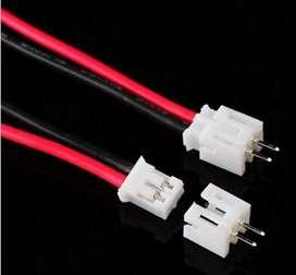 Micro Ph 2 Pin Conector Jst Plug Conector Macho Y Hembra