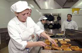 Solicito auxiliar de cocina en suba