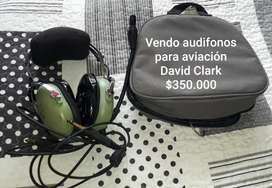 VENDO AUDIFONO DE AVIACIÓN DAVID CLARK