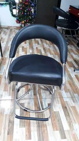 Una silla de peluqueria