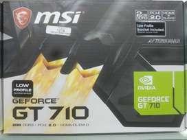 Tarjeta de video GT710  DDR3 2 GB