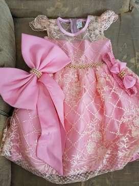 Vestido de niña bautizo o cumpleaños