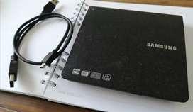 Dvd writer slim externo samsung, SE-208