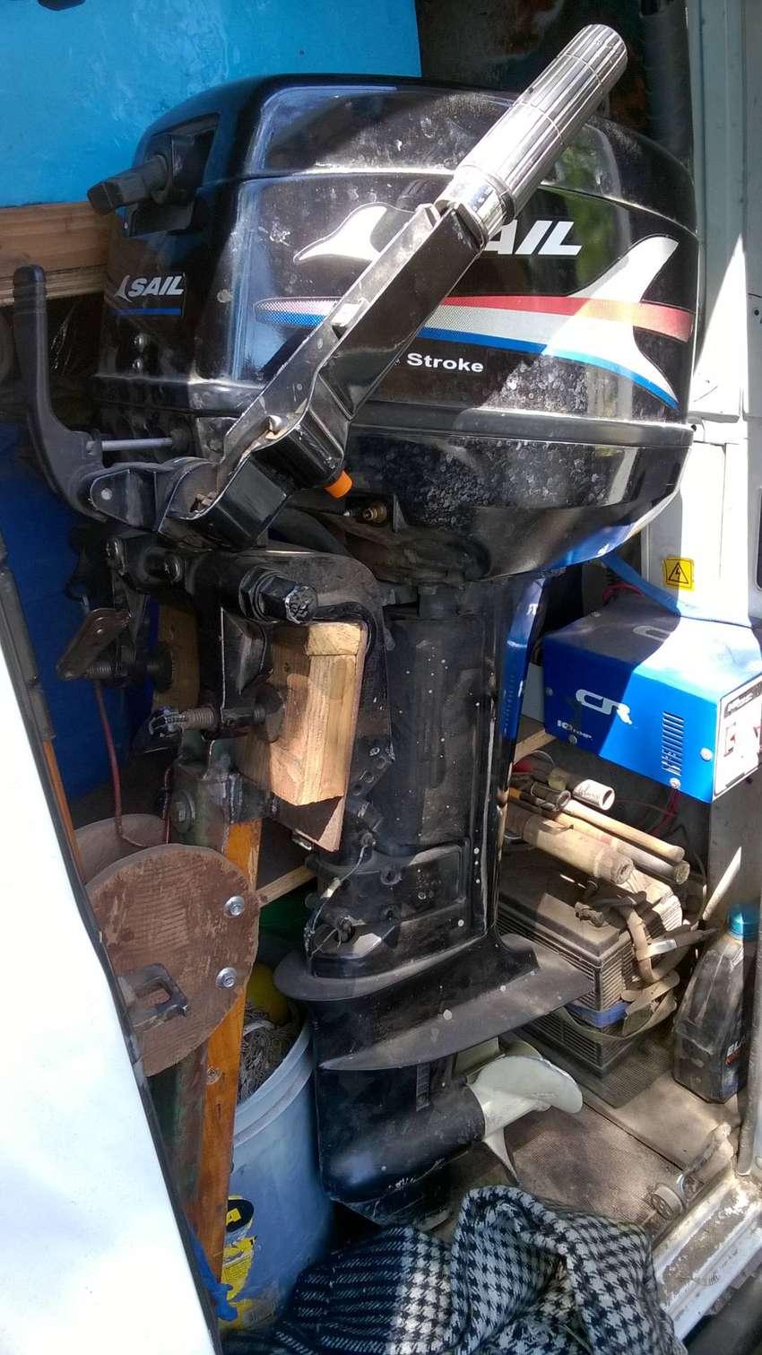motor sail 15 hp fuera de borda 0