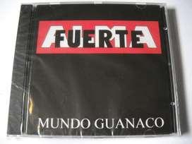 mundo guanaco almafuerte sellado cd