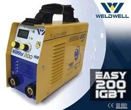 Maquina de soldar weldwell 200 y 250 amp.