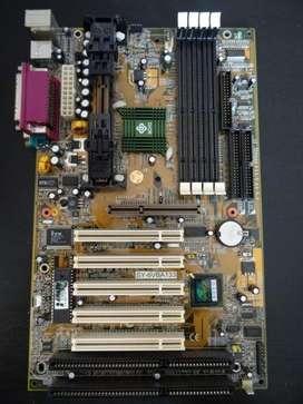 Motherboard Soyo Sy6vba133 Slot 1 pentium 3