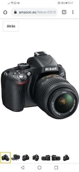 Cámara Nikon D5100 Más Lente 55-200 Mm con batería incluida