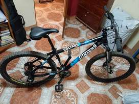 Bicicleta scott semi nueva