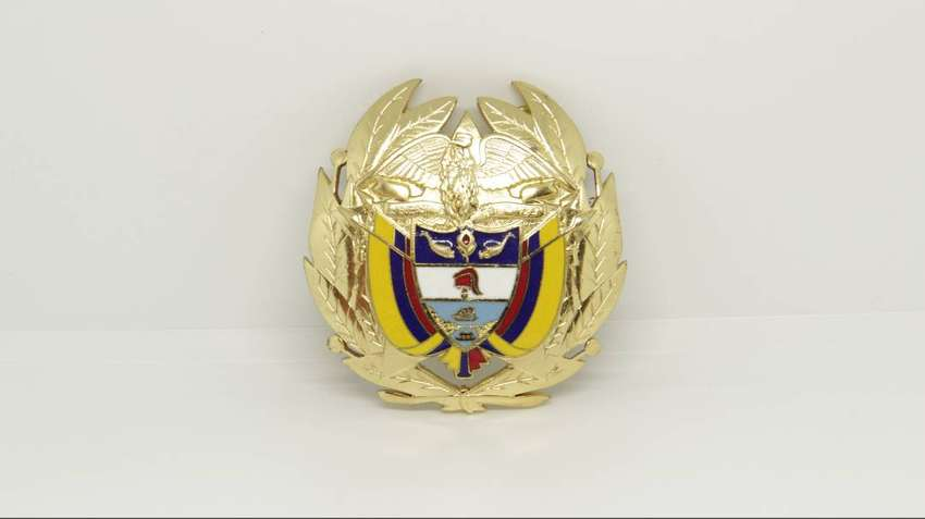 Escudo Colombia de Origen Militar
