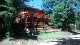 Cabaña de Quebracho para 4 personas a 7 Km de Villa General Belgrano
