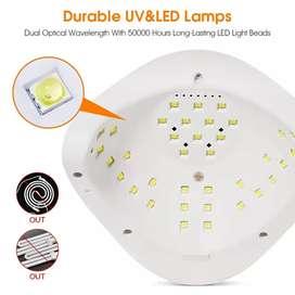Lampara secado de uñas UV led 54 watts 36 bombillos UV led