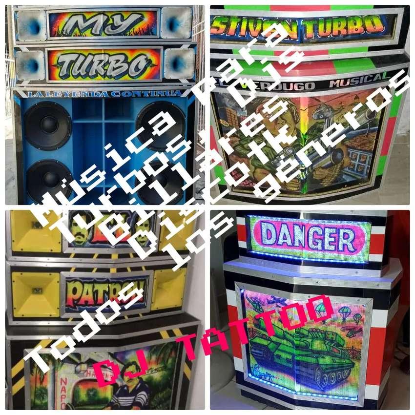 Usb y disco musica para Turbos y Djs todos los géneros