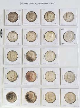 Colección de monedas de Estados Unidos